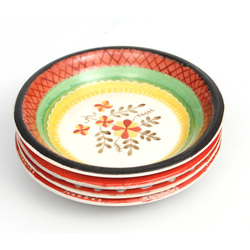 Porcelāna šķīvīši (4 gab.)