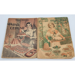 2 Vilmas Bērtiņas grāmatas - Praktiska virtuve, Mājas cepumi
