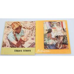 2 grāmatas/reprodukciju albumi - Alseksandra Beļcova, Edgars Iltners