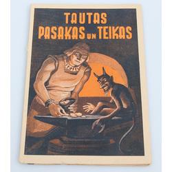 J.Sviestiņš, Tautas pasakas un teikas