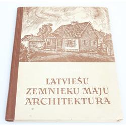 O.Bērziņš, Latviešu zemnieku māju arhitektūra
