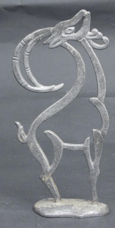 Alumīnija galda dekora