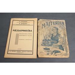 2 grāmatas - Mājsaimniecība, Mājturība