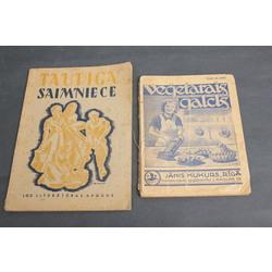 2 grāmatas - Veģetārais galds, Taupīgā saimniece