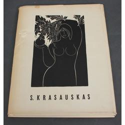 S. Krasauskas litogrāfiju albums