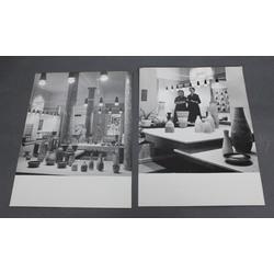 Fotogrāfijas 2 gab. keramikas izstāde