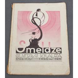 Gustavs Krauja, Smeldze(dzejoļi 1928-1931)