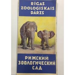 Rīgas Zooloģiskā dārza plāns