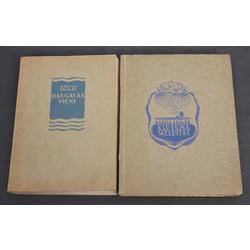 2 Kārļa Skalbes grāmatas - Daugavas viļņi, Klusuma melodijas