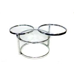 Saliekams metāla galdiņš