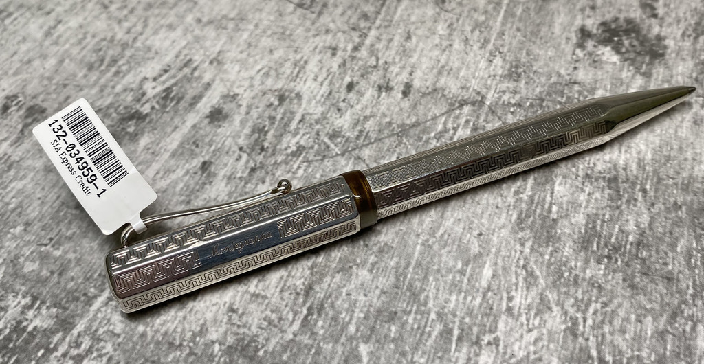 Sudraba pildspalva Mondegrappa