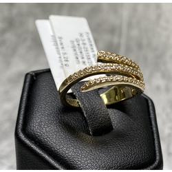 Zelta gredzens ar 43 briljantiem
