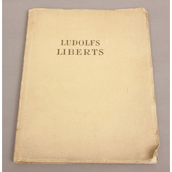 Ludolfs Liberts, Fr. Baloža apcerējums