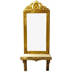Spogulis ar pamatni