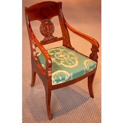 Элегантные стулья Бидермейера (2 шт.)