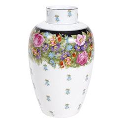 Porcelāna vāze Flora