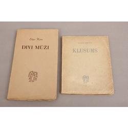 2 grāmatas - Jānis Grots -