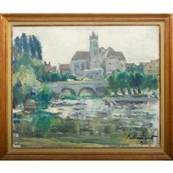 Skats uz Moret-sur-Loingu