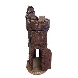 """Keramikas interjera priekšmets """"Bruņinieks tornī"""""""