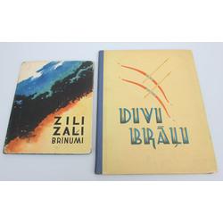 2 grāmatas - Latviešu tautas pasaka
