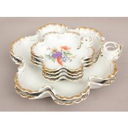 Porcelāna ievārījuma trauku komplekts