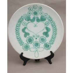 Dekoratīvs keramikas sienas šķīvis