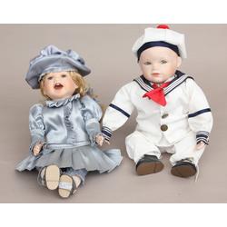 2 lelles - puika un meitene