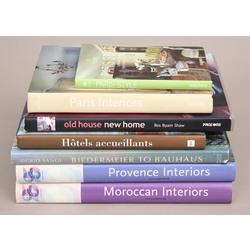 7 grāmatas par interjera dizainu