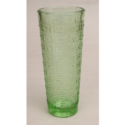 Zaļa stikla vāze