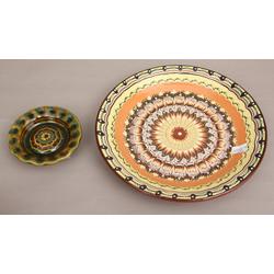 Keramikas šķīvji (2 gab.)