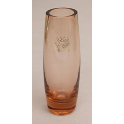 Krāsainā stikla vāzīte