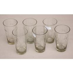Stikla glāzes 6 gab.