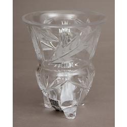 Iļģuciema stikla fabrikas kristāla trauks/vāze