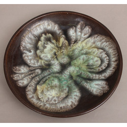 Ceramic plate with painting