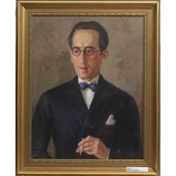 Eleganta vīrieša portrets