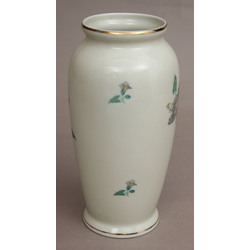Porcelain vase 'Flowers'