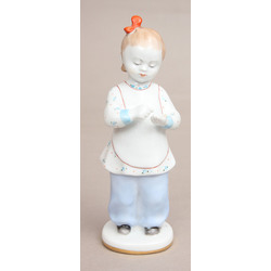 "Porcelain figurie ""First counting"""