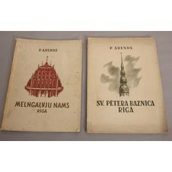 2 P.Ārenda grāmatas - Melngalvju nams, Sv.Pētera baznīca
