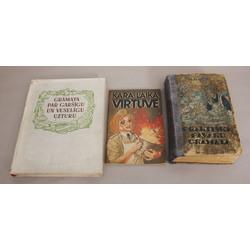 3 pavārgrāmatas - Praktiska pavāru grāmata, kara laika virtuve, grāmata par garšīgu un veselīgu uzturu