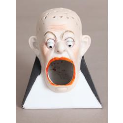 Figurāls biskvīta cigāru turētājs art deko stilā