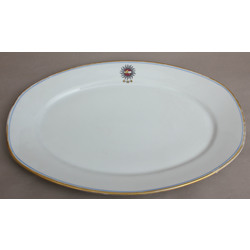Porcrelāna servājamais šķīvis