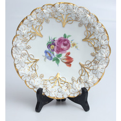Meissen porcelāna dekoratīvais šķīvis