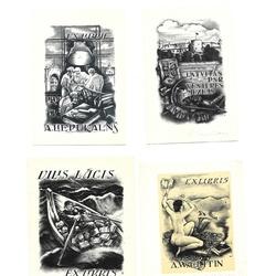 10 Alekseja Jupatova ekslibri un 1 brošūra