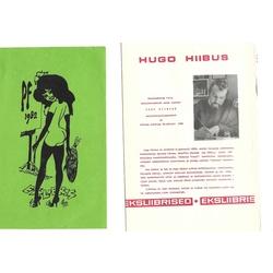 Hugo Hibiusa 9 ekslibri un 1 brošūras