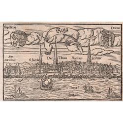 Rīgas panorāma pirms 1547. gada