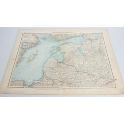Livonijas karte