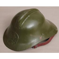 Metal fire fighters  helmet