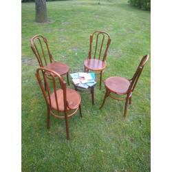 Vīnes stila krēslu komplekts