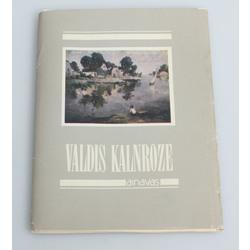 Atklātņu albums ar Valda Kalnrozes ainavām