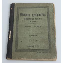 Dziesmu grāmata Kurzemes skolām(ar notīm)